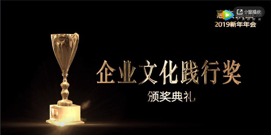 【惠友集团】2018年度企业文化践行奖